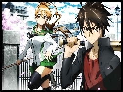Highschool Of The Dead, Rei, Takashi